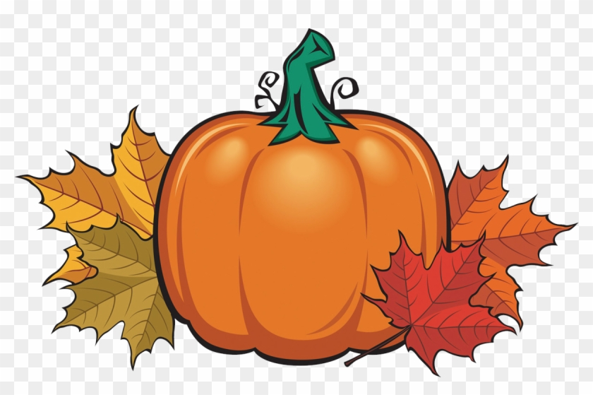 Pumpkin Spice Is Overrated Assumption Fall Festival - Pumpkin And Fall Leaves Clipart #3268868