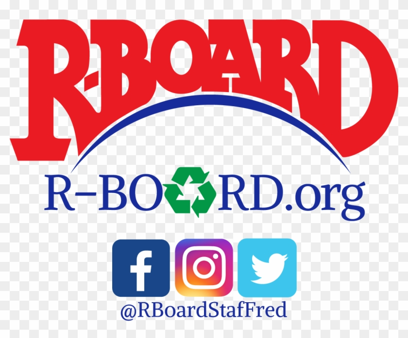 Rboardstaffred Logo Full Png With Social Media - Graphic Design Clipart #3269320