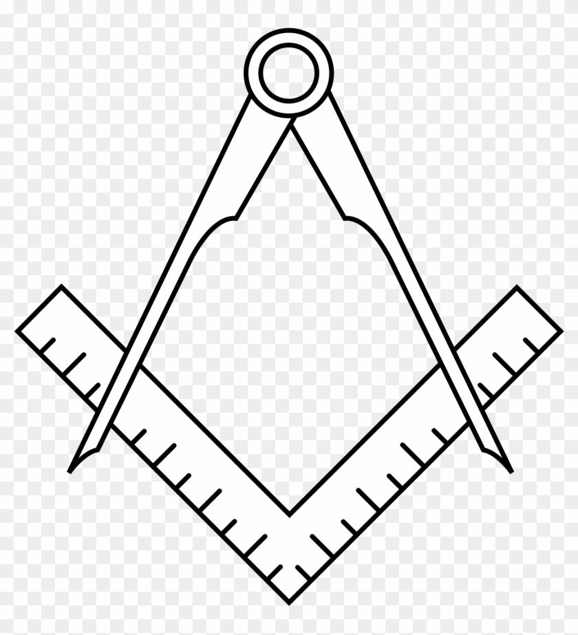Early masonic regalia: 1787 Apron
