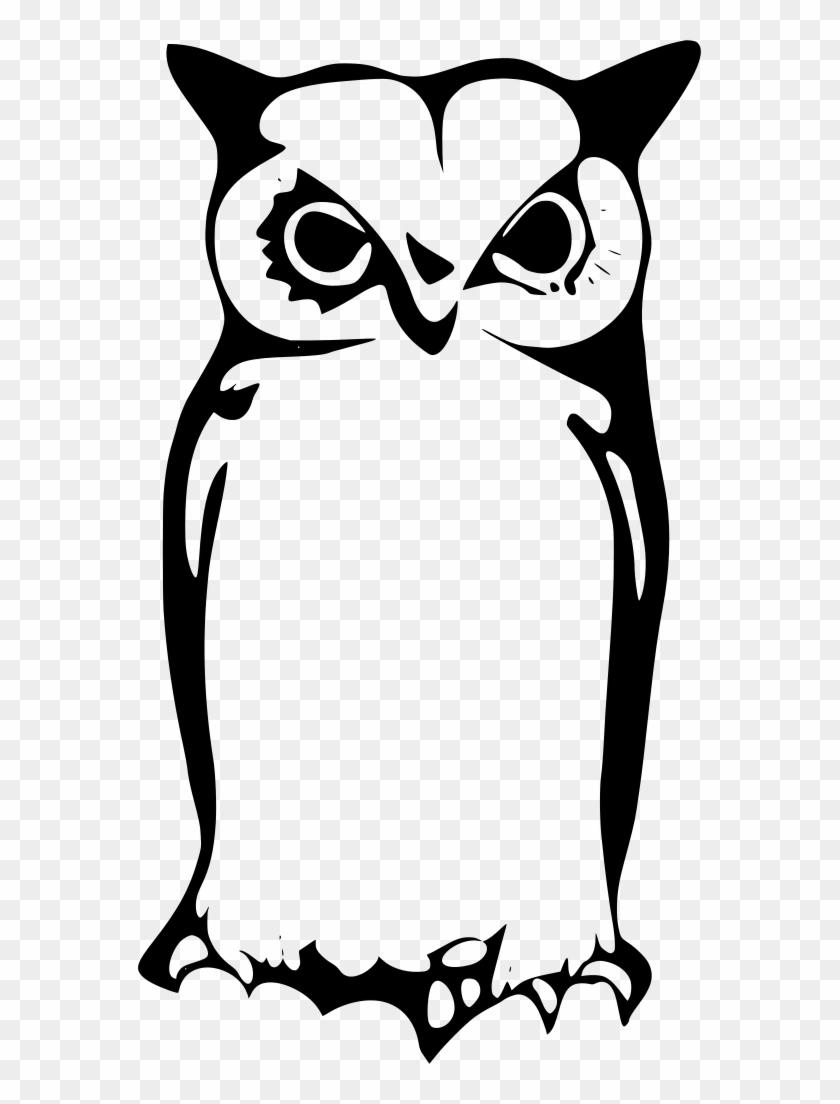 Download Gambar Tato Burung Hantu Clipart