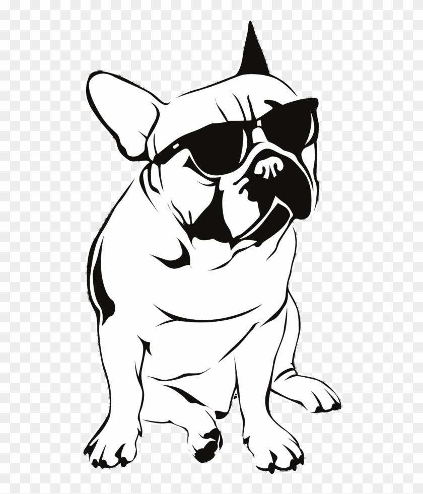 Bulldog Clipart Profile - French Bulldog Clipart - Png Download #3277568