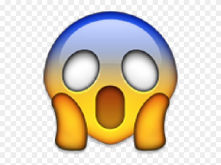 Face Screaming In Fear - Emojis Do Whatsapp Grandes Clipart #3281887