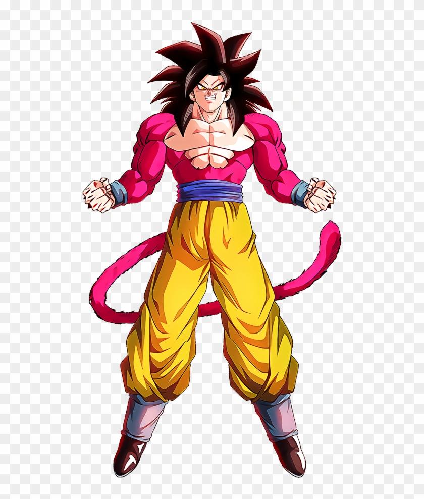 Super Saiyan 4 Goku Character Hd Version - Goku Ss4 Png Clipart #3282354
