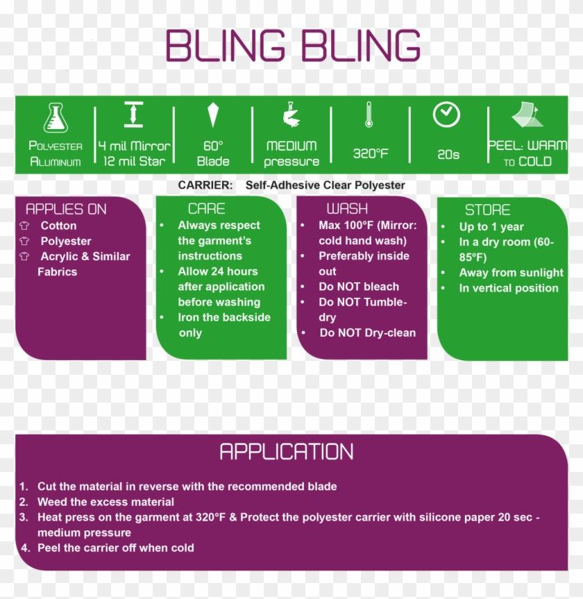 "Bling Bling Mirror 20"" - Heat Transfer Vinyl Clipart #3282688"
