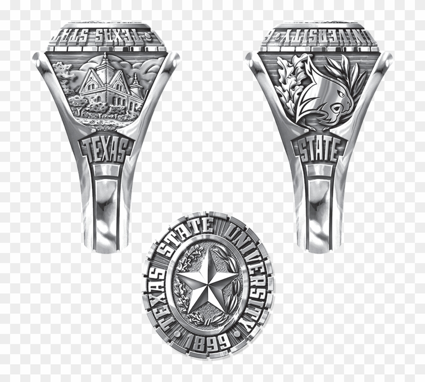 Texas State University Ring Clipart #3283087