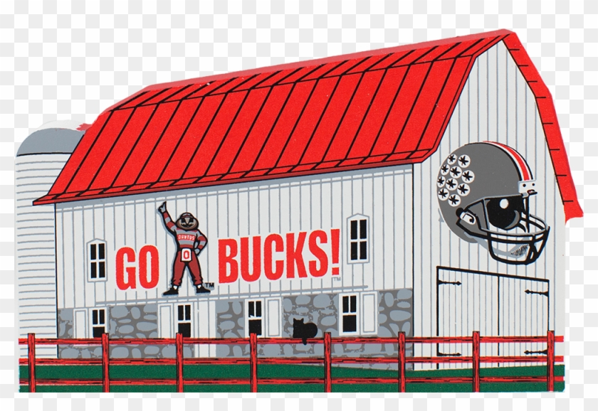 Ohio State Football House Clipart #3284240