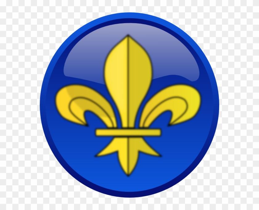 How To Set Use Fleur De Lys Svg Vector - Emblem Clipart #3285350