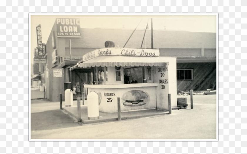 History - Original Carl's Jr Restaurant Clipart #3286826