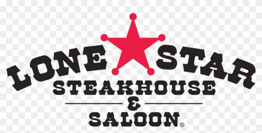 Restaurant With Star Logo Lone Star Steakhouse Saloon - Lone Star Restaurant Logo Clipart #3286941