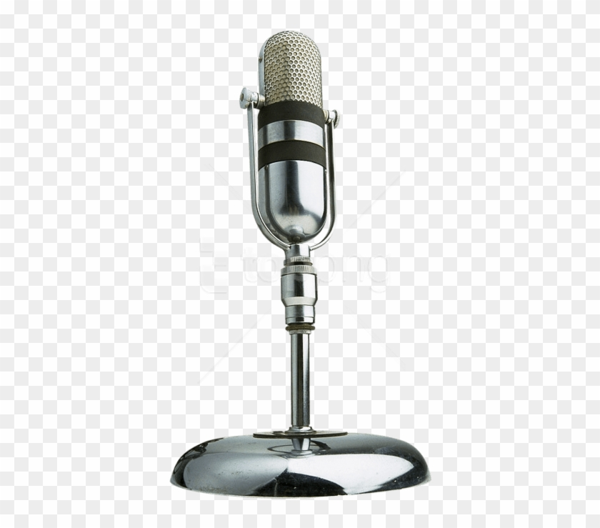 Free Png Old Microphone Png Images Transparent - Retro Microphone Png Clipart #3286976