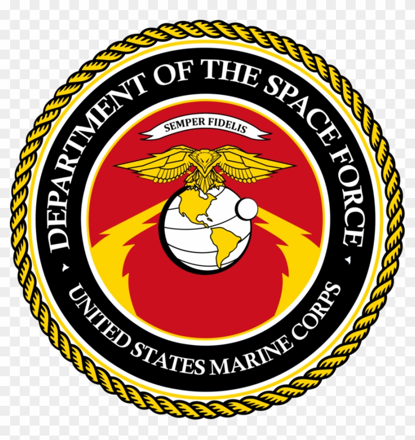 United States Marine Corps Logo Png - Department Of Space Force Clipart #3289074
