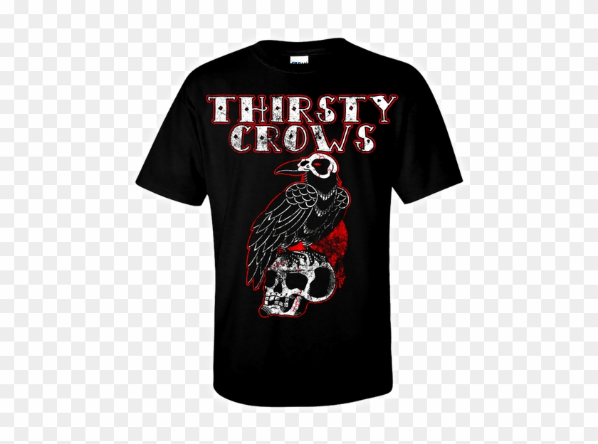 """The Thirsty Crows """"distressed"""" - Don T Grow Up It's A Trap T Shirt Clipart #3290697"""