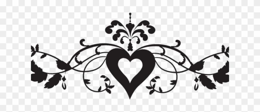 Hearts Clipart Borders - Wedding Transparent Borders Clipart - Png Download #3291049