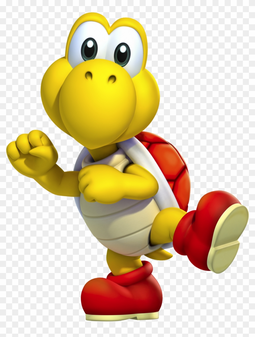 Mario Kart For Mario Kart Wii What Small Character Red Koopa