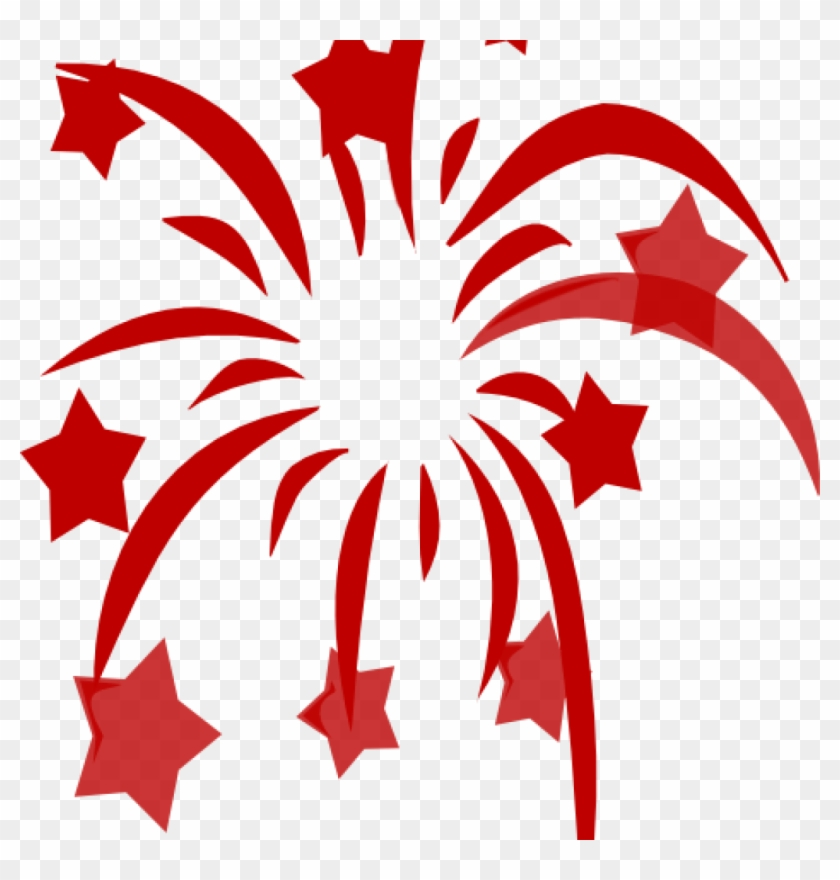 Svg Black And White Firework Clipart No Background Chinese