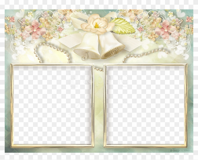 Free Png Soft Transparent Double Wedding Frame Background Double Photo Frame Wedding Clipart 3295286 Pikpng