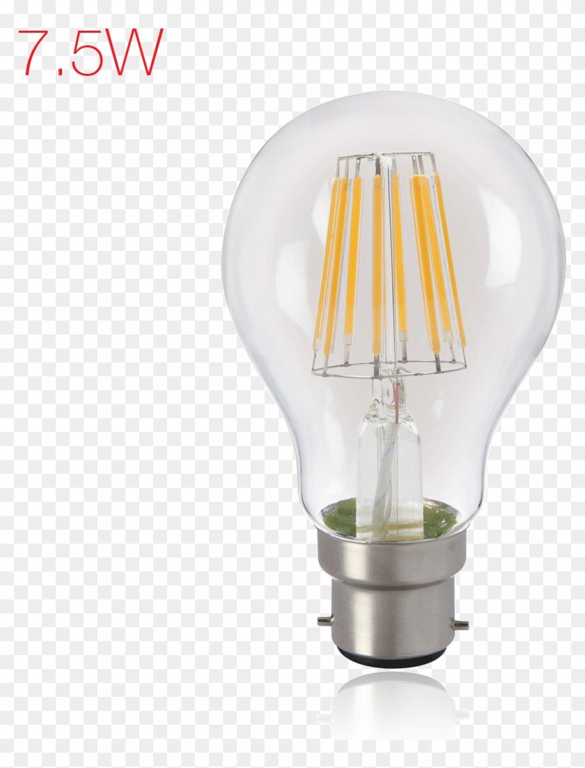 Brightfill Led Filament A60 - Incandescent Light Bulb Clipart #3296582