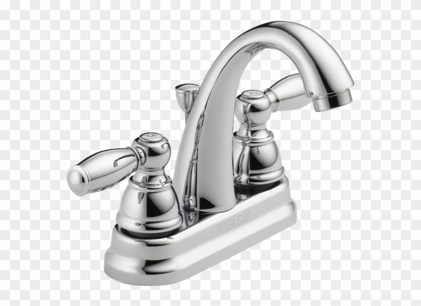 Two Handle Bathroom Faucet - Peerless Faucet Clipart #3297349