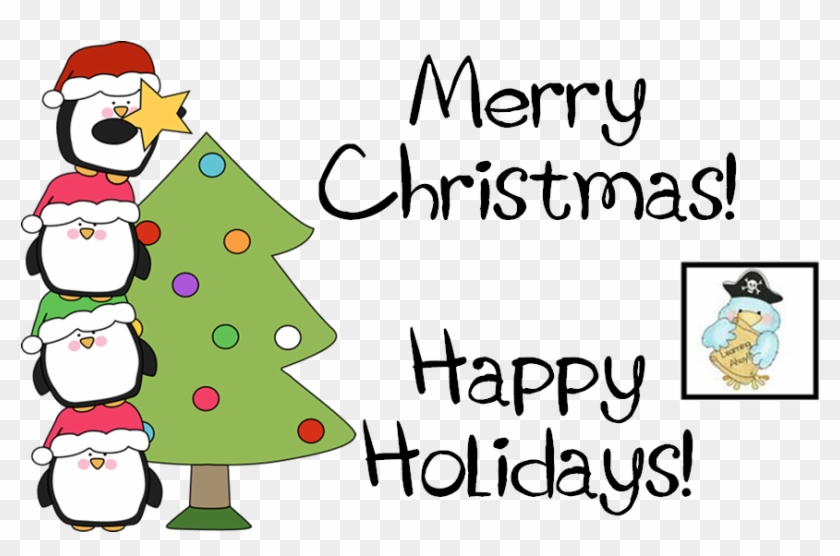 Wishing You And Yours A Very Merry Christmas And/or - Happy Holidays And Merry Christmas Png Clipart #3299669
