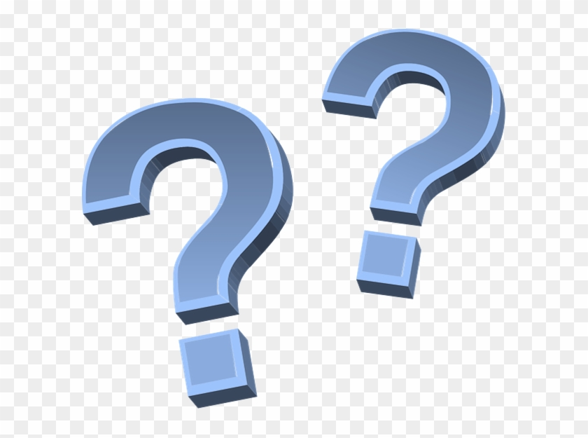 Blue Question Marks Clipart #330408