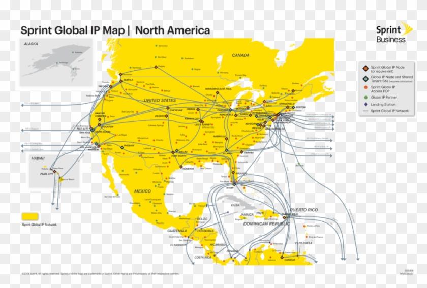 Intertubes Study Of The Us Long Haul Fiber Optic Infrastructure - Us Fiber Optic Network Map Clipart #331835