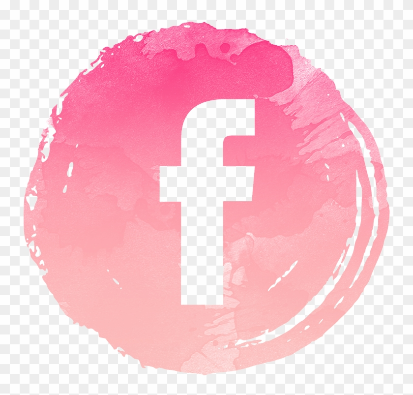 Pink Facebook Logo Png Wwwimgkidcom The Image Kid - Facebook Icon Pink Png Clipart@pikpng.com