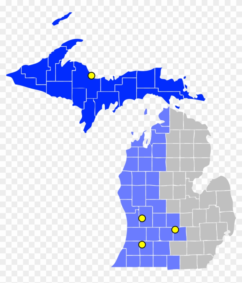 United States District Court For The Western Of Michigan - Cwd Zones In Michigan Clipart #332771