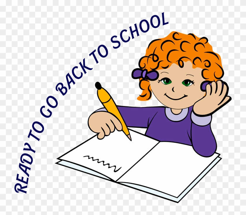 Students Writing Clipart - Clipart Handwriting - Png Download #333090