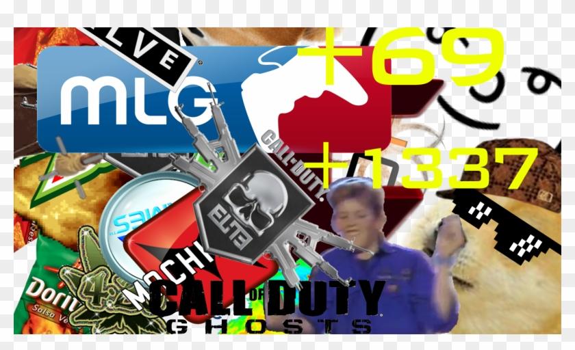 Mlg Shot Hitmarker - Mlg Background Clipart #335473
