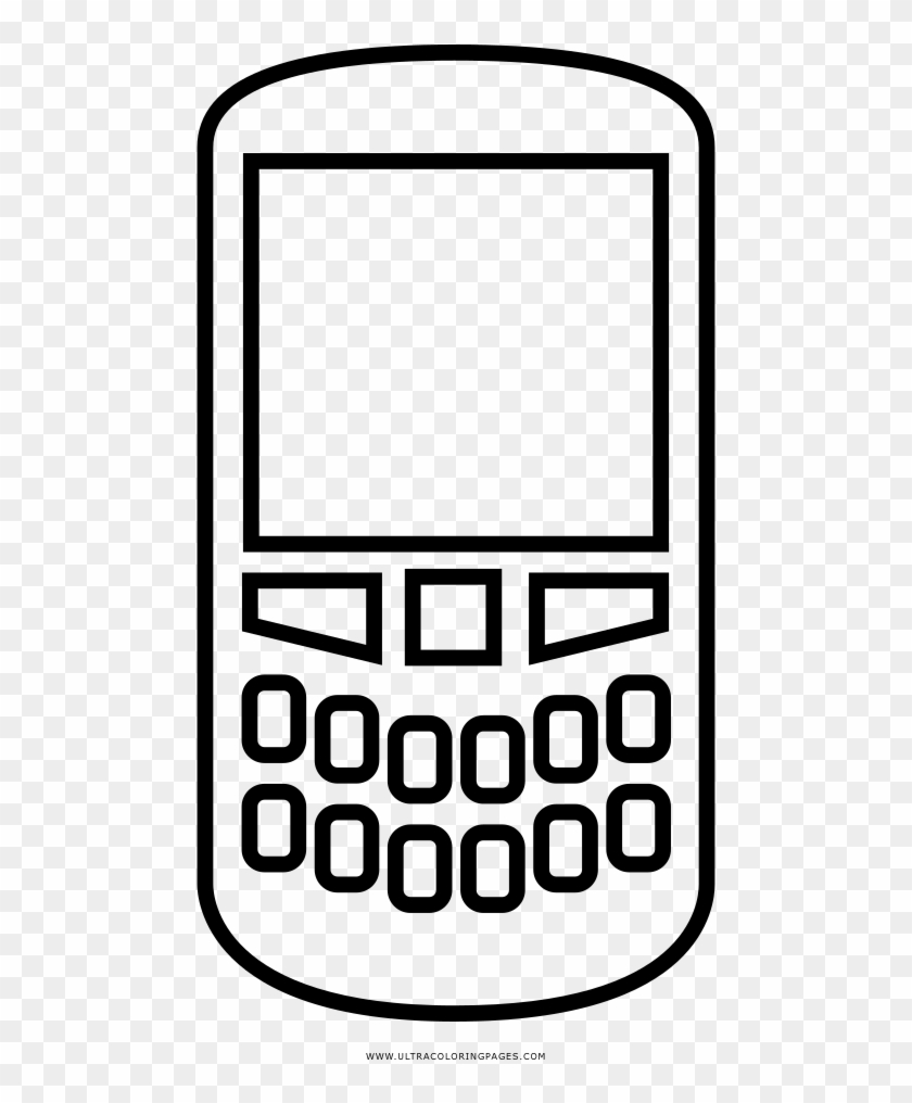 Attractive Cell Phone Coloring Page Cellphone Ultra Dibujo