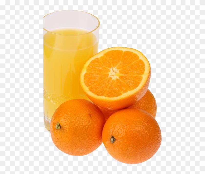 Zumo Naranja Con Las Bajas Temperaturas Del Invierno - Blood Orange Clipart #3300047