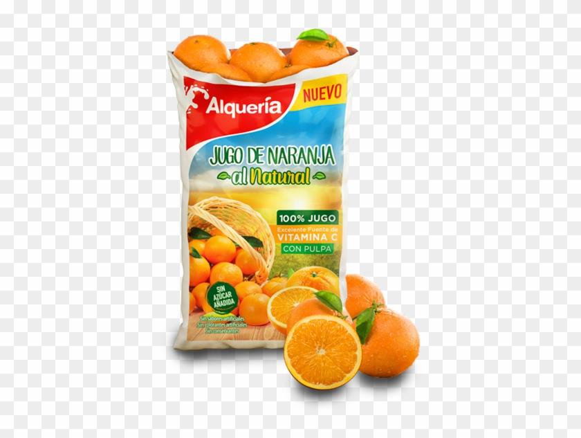 Jugo De Naranja Al Natural - Convenience Food Clipart #3300072
