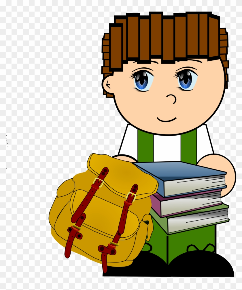 this free icons png design of cartoon schoolboy  gambar