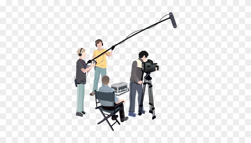 Film Production - Film Crew Png Clipart@pikpng.com