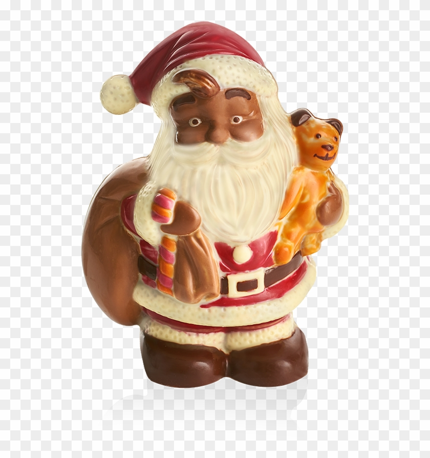 Santa With Teddy - Santa Claus Clipart #3308641