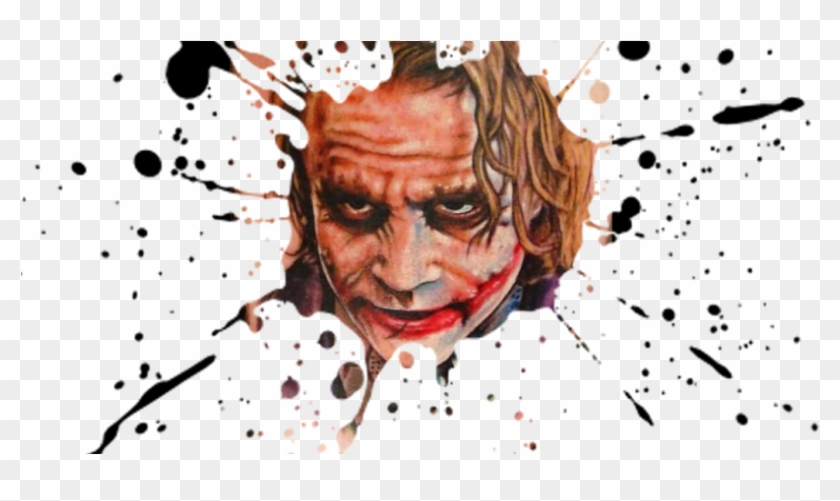 What Is Takes To Become Good Tattoo Artists - Joker Tattoo Clipart #3312014