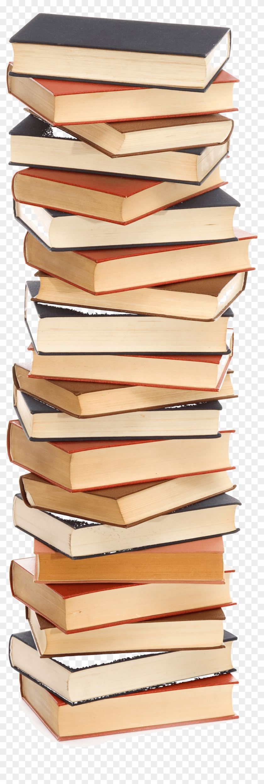 Tall Stack Of Books Transparent - Clipart Stack Of Books Transparent - Png Download #3314095