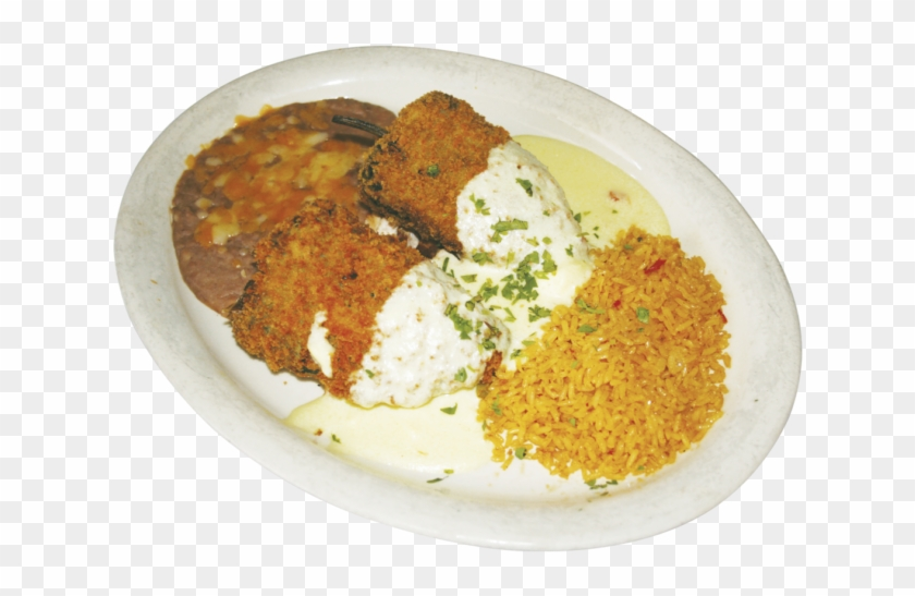 The Chile Relleno Comes Served Crispy With A Side Of Chiles Rellenos Png Clipart 3316328 Pikpng