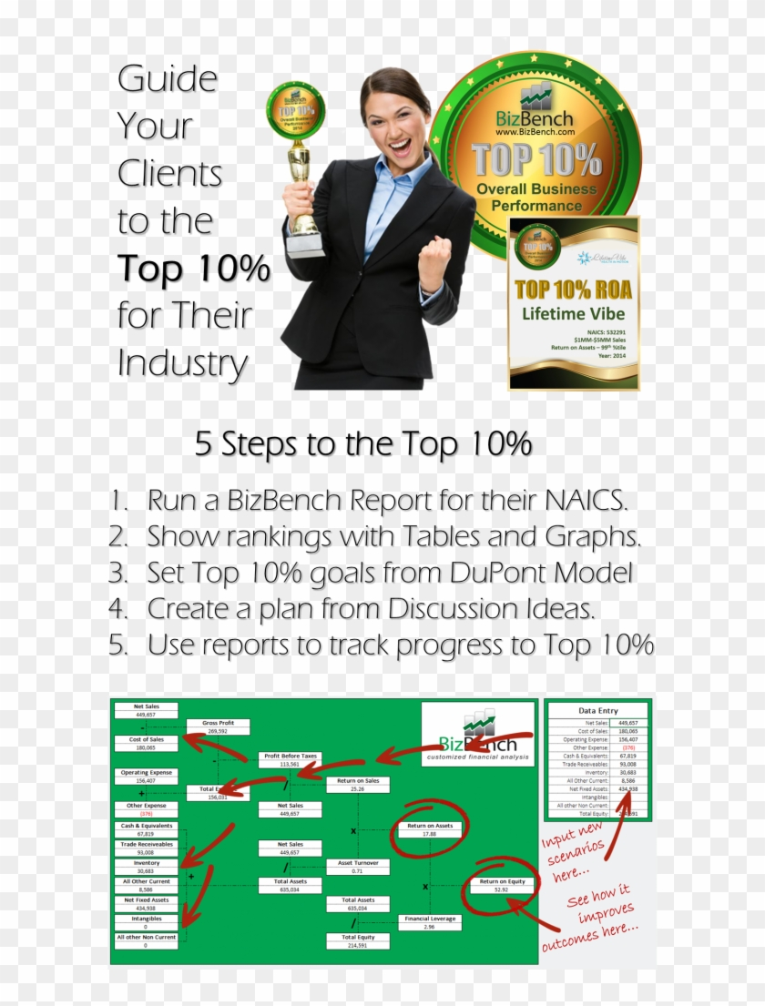 Bizbench Provides You A Complete Consulting Platform - Flyer Clipart #3317173