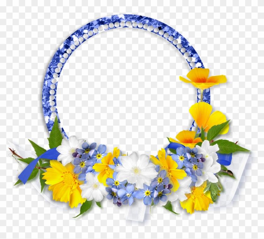 Spring Song, Digital Scrapbooking Freebies, Digital - Spring Flowers Png Frame Clipart #3317542