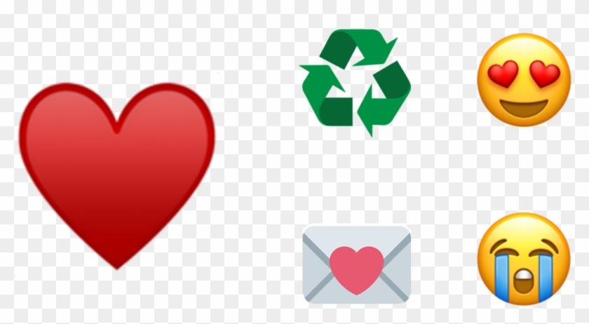 En Séptima Posición Está La Sonrisa Y En Octava Lo - Recycle Symbol Clipart #3317921