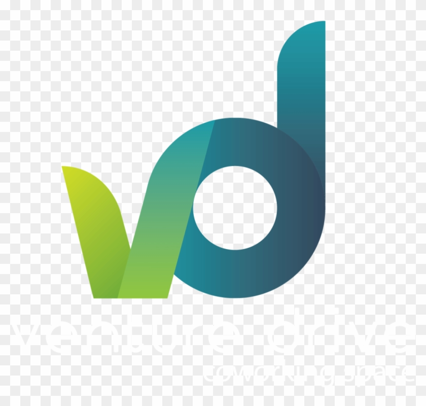 Logo Venture Drive Co Working Space 2 - Graphic Design Clipart #3322960