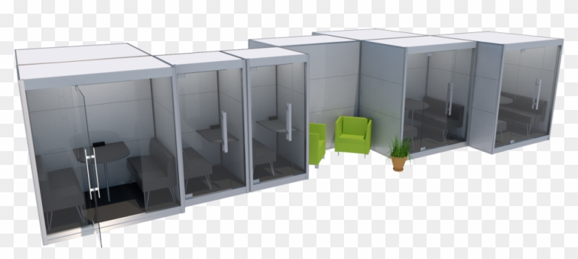 Modular Work Environment While Eliminating The Noise - Alternatives To Open Office Layout Clipart #3323290