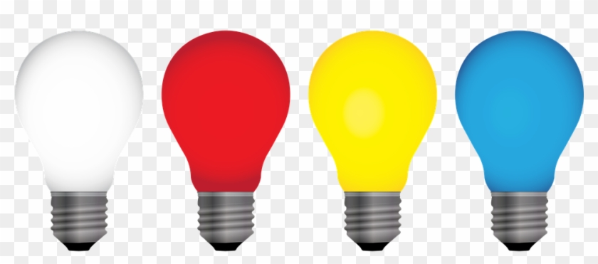 Free Vector Graphics On Pixabay - Light Bulb Colour Icon Clipart #3325816