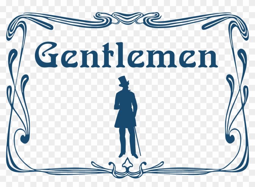 Men Toilet Door Sign Icons Png - Male Toilet Door Sign Clipart #3328290