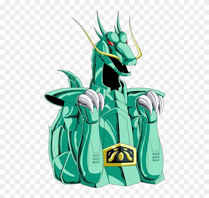Armaduras De Los Caballeros De Bronce - Armadura De Dragon Caballeros Del Zodiaco Clipart #3330349