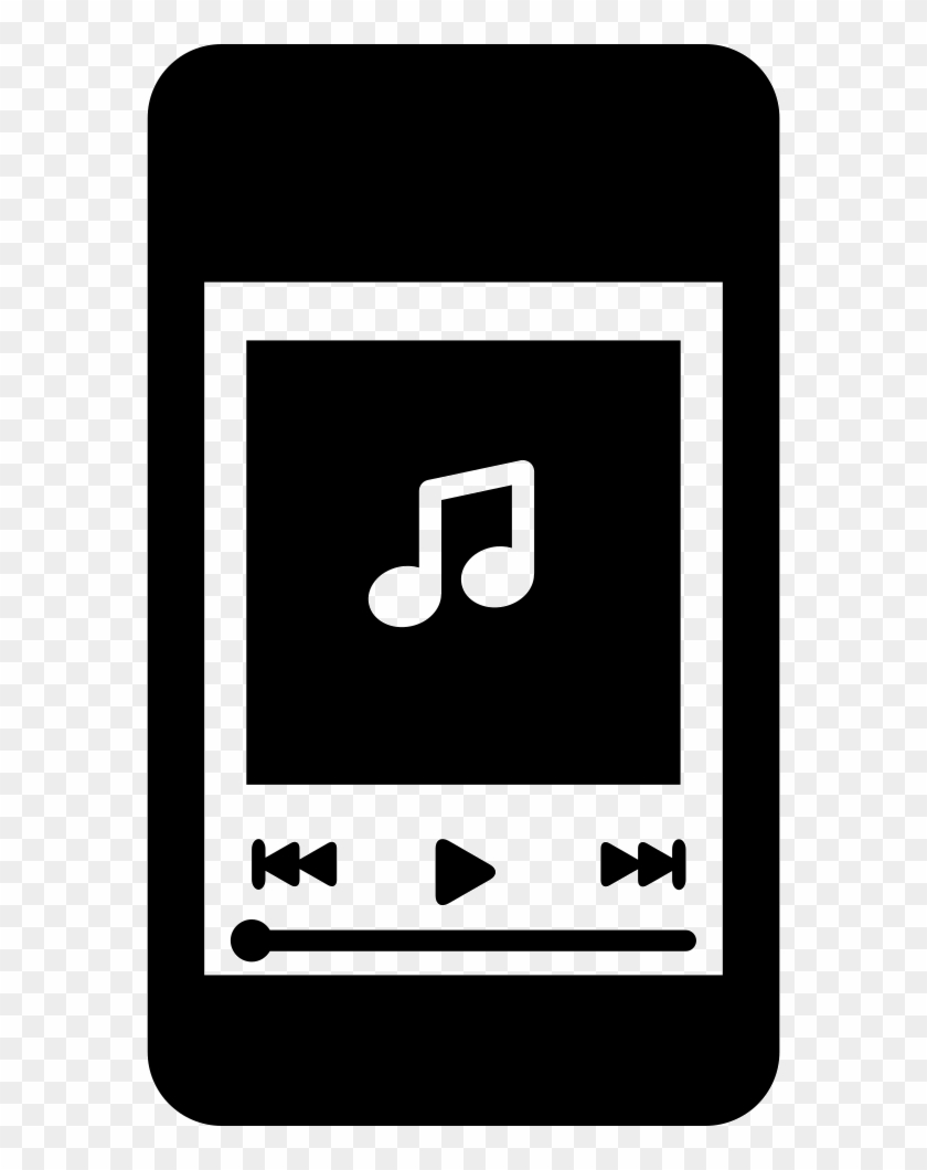 Iphone Music Player - Iphone Music Player Png Clipart@pikpng.com