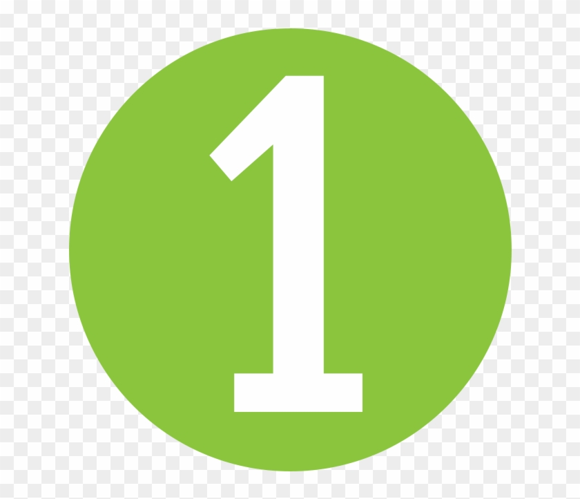 Number 1 Icon Green Png Download Number 1 Icon Green Clipart 3336609 Pikpng