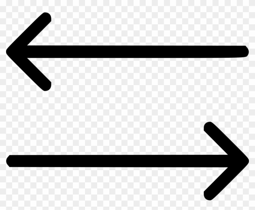 Arrows Directions Left Right Comments - Bidirectional Arrow Clipart #3339360