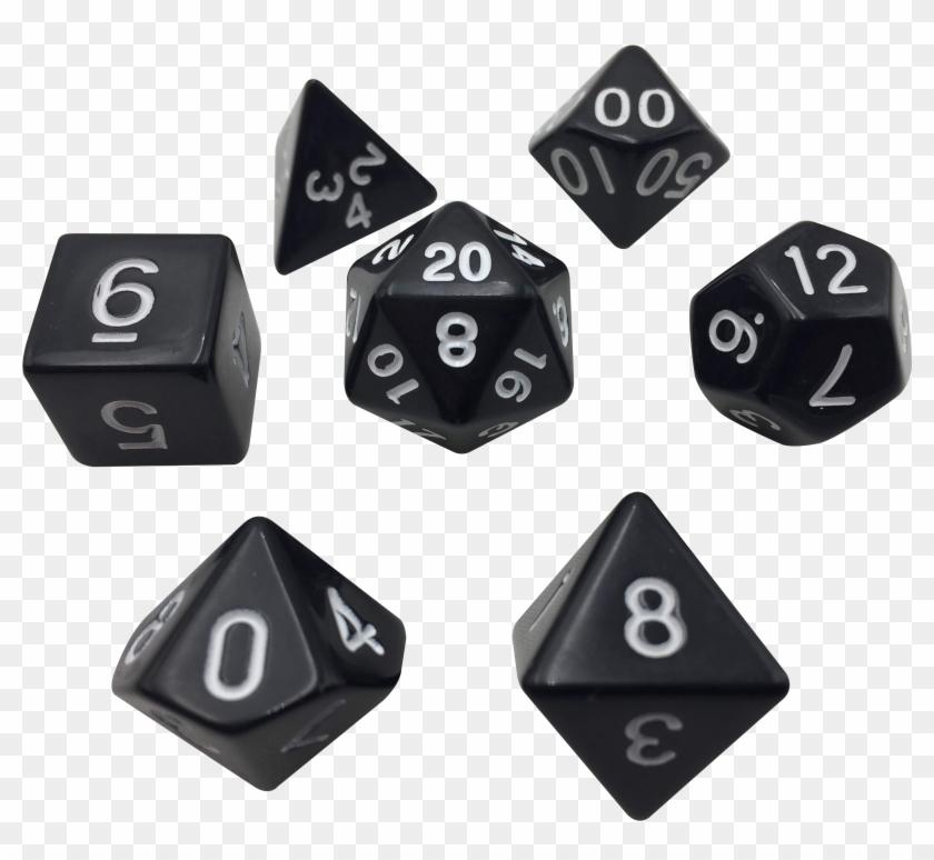 SkullSplitter Purple Marbled Pack of 7 Polyhedral Dice 7 Die in Set
